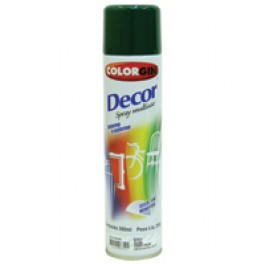 COLORGIN DECOR VERDE FOLHA 250G - PC