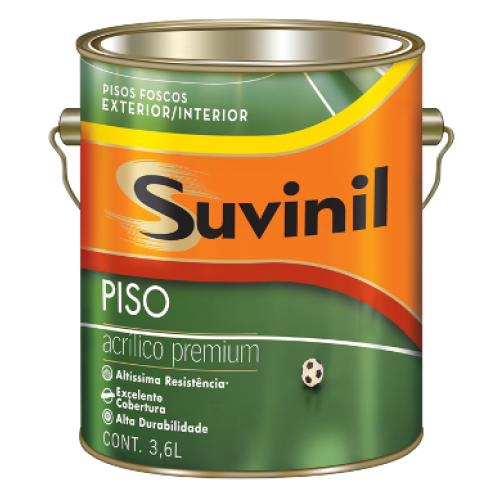 SUVINIL PISO CINZA ESCURO 3,6L - GL