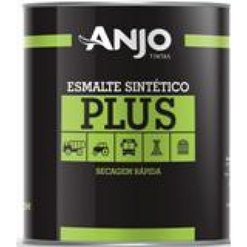 TINTA ESM.SINT.PLUS PRETO FOSCO 900ML - 1/4