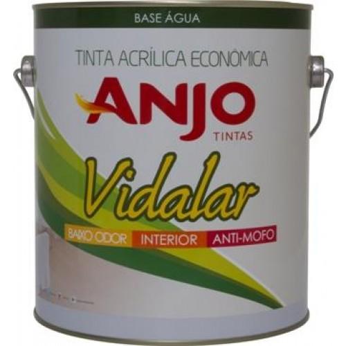 Tinta Acrílica Econômica Vidalar Branco 3,6LT