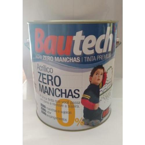 BAUTECH TINTA ACR.ZERO MANCHA 3,6L - GL