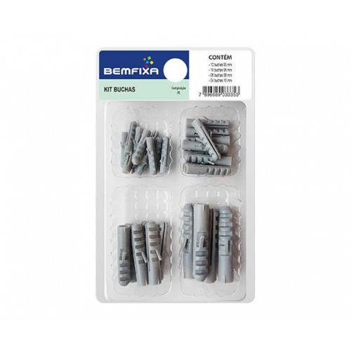 BEMFIXA KIT BUCHAS 08MM - PC