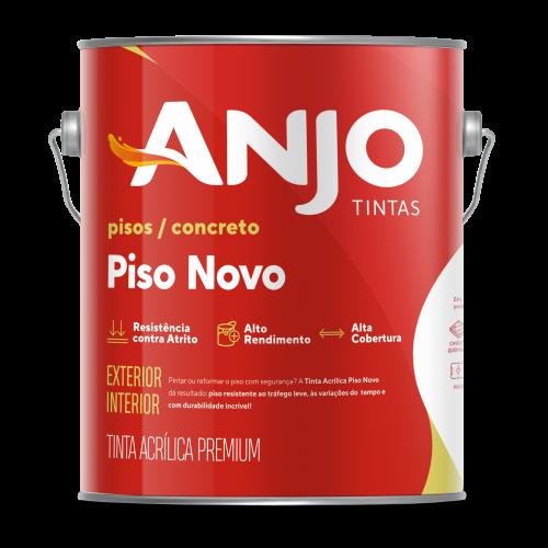 TINTA PARA PISO ANJO PRETO FOSCO 3,6L